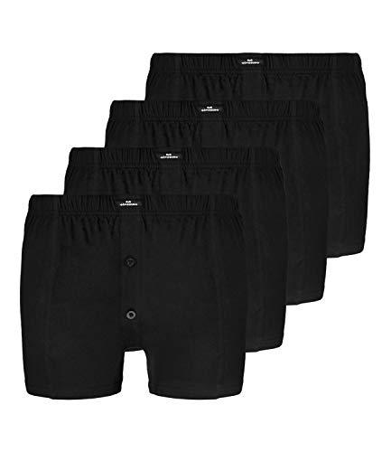 4 GÖTZBURG Jersey Basic Boxershorts Boxer Herren, Grösse:XXXL - 9 - 58;Farbe:schwarz