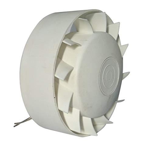 Ventilador Extractor Axial Industrial en línea para conductos Circulares de Alta Temperatura 140°C MMotors JSC 100 mm Rodamiento Bolas NSK Japón Larga Vida hasta 30.000 Horas IN-Line Barbacoa
