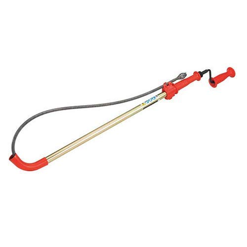 RIDGID K-6P (56658) 6 ft. Toilet Auger with Bulb Head and Heavy Duty Cable