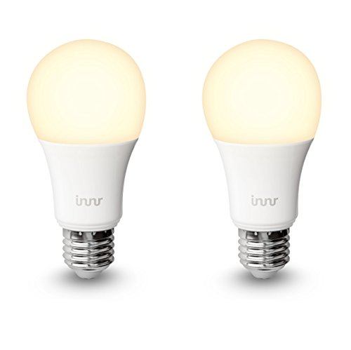 Innr E27 Duo pack des 2 ampoules LED connectée Blanc (pilotable via...