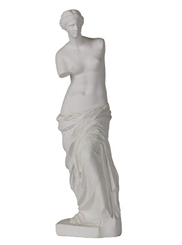 Aphrodite Statue Greek Statue Goddess Statue Greek Mythology Decor Statues for Home Decor Sculpture Figurine Louvre Statue Decorations Roman Statue for Living Room Office Decor Ornaments