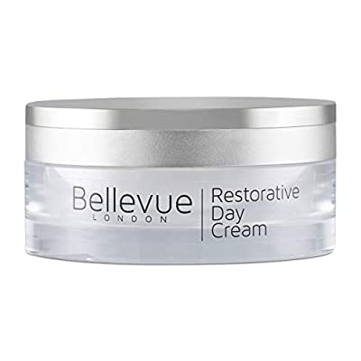 Restorative Day Cream 50ml, Anti Ageing Face Cream and Anti Wrinkle Cream for the Face and Neck; a Face Cream for Women and Face Moisturiser for Men, Increase Firming with Regenerating Properties from Bellevue London