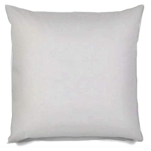 MSD Pillow Insert 36X36 Hypoallergenic Square Form Sham Stuffer Standard White Polyester Decorative Euro Throw Pillow Inserts for Sofa Bed Couch - Made in USA (1 Pack) - Machine Washable and Dry