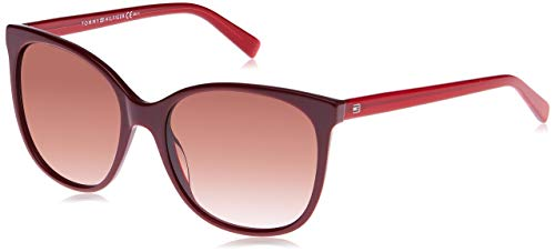 Tommy Hilfiger TH 1448/S K8 A1C 56 Occhiali da Sole, Rosso (Red/Brown SF), Donna