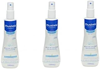 MUSTELA Trio Agua de Colonia Sin Alcohol 200ML (3 unidades)