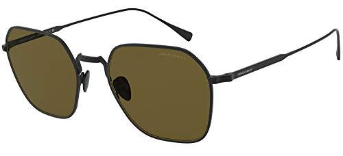 Giorgio Armani sonnenbrille AR6104 300173 Schwarz braun größe 53 mm Herren