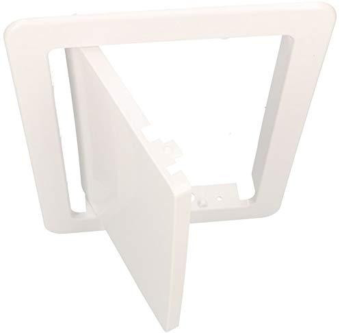 KOTARBAU Revisionstür 15 x 20 cm Alle Größen Kunstoff ABS Inspektionstür Weiß Wartungsklappe Schnappverschluss Abnehmbar Wand/Decke/Boden Robust Öffnung Uni.