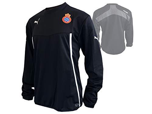 PUMA Espanyol Barcelona Sweatshirt schwarz Spanien Fußball La Liga Fanartikel, Größe:M
