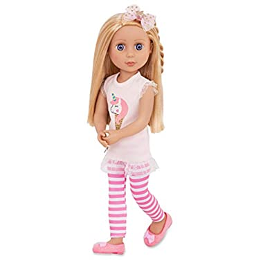 Glitter Girls Doll by Battat – Lacy 14″ Poseable Fashion Doll – Dolls for Girls Age 3 and Up