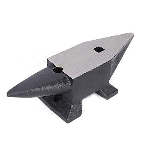 OUKANING Amboss 5kg Schmiedeamboss Massivem Stahl Geschmiedet Unzerbrechlich für Schmiede (5kg)