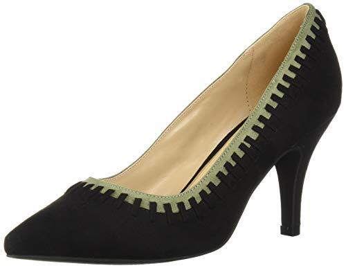Athena Alexander Women's Stdenis Sneaker, Black Suede, 7.5 M US