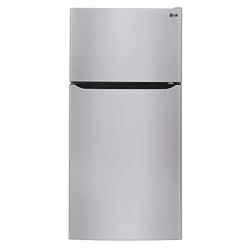 LG 33-inch Top-Freezer Refrigerator Stainless Steel
