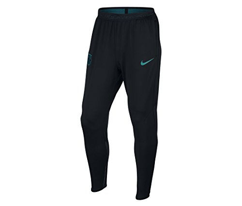 Nike Herren FC Barcelona M NK Dry Strike Pant KP 1 Trainingshose, Schwarz/Türkis, M