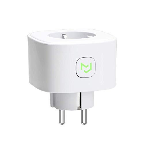 Enchufe Inteligente 16A 3680W, con Control Remoto Meross app, Compatible con Alexa, Google Assistant y SmartThings, Wi-Fi Smart Plug