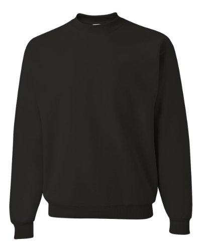 Jerzees JERZEES SUPER SWEATS - Crewneck Sweatshirt. 4662M - S - Jet Black