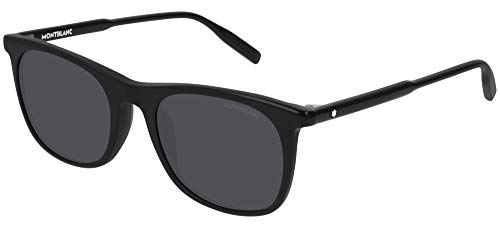 Mont Blanc Gafas de Sol MB0007S Black/Grey Hombre