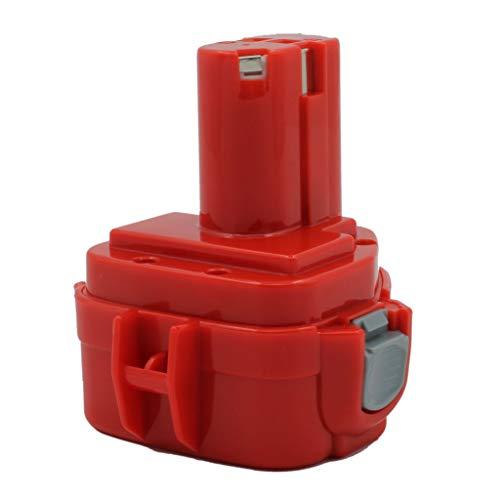 KINSUN vervangende elektrische gereedschapsbatterij 12V 3.0Ah Ni-MH voor Makita Draadloze boor PA12 1220 1222 192598-2 192681-5 193981-6 638347-8 638347-8-2 6271DWE 6319D