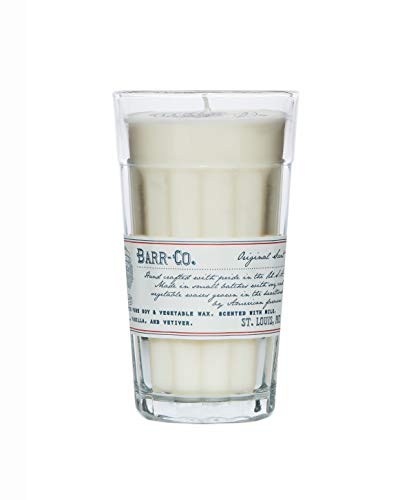 BARR-CO Original Scent Soy and Vegetable Wax Candle Parfait Glass 10 oz