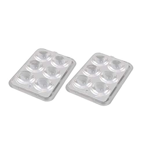 New Lon0167 2Sets PMMA Featured 6 LED Optical reliable efficacy Lens 93% Transmittance w Square Clear Cover for Lights(id:9e3 30 af 9ee) -  62f438b6-3c09-cace91b5658fc4