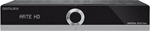 IMPERIAL HD 6i Twin-Satelliten-Receiver (HDTV, HDMI, USB, PVR Ready, Ethernet, Mediaplayer, Web-TV, Satelliten>IP, Multistreaming, Webportal) schwarz