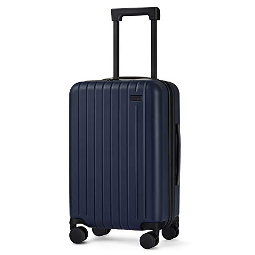 55cm Hard Shell Cabin Suitcase, Travel Lightweight Carry on Luggage with...