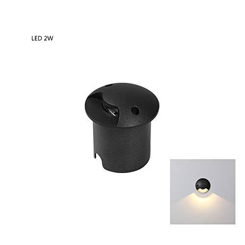 Iluminación empotrable de 2W para focos Unidireccional Iluminado...