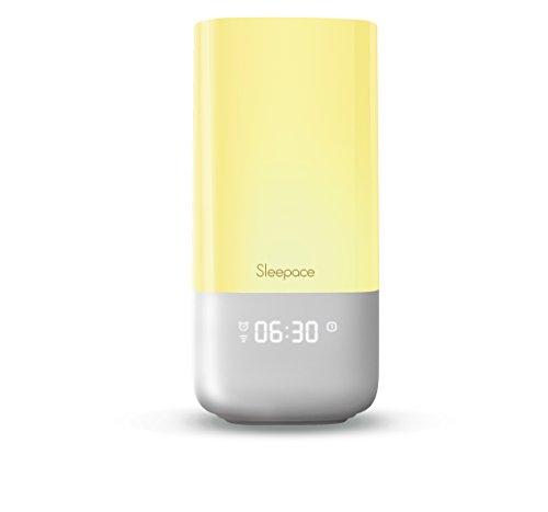 Sleepace NOX Smart WLAN Schlaflicht / Wake-up Licht mit Sonnenaufgangsfunktion für Android &. IOS