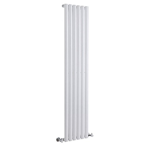 Milano Radiador de Diseño Revive Vertical - Blanco - 841W - 1600 x 354mm