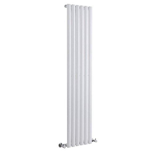 Hudson Reed Vitality – Radiateur Design Vertical – Blanc – 160 x 35,4cm