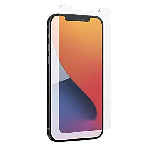 ZAGG InvisibleShield Glass Elite Anti-Glare Plus - Blocks Glare from your device - Made for iPhone 12 Pro, iPhone 12, iPhone 11, iPhone XR, Clear, 200106677
