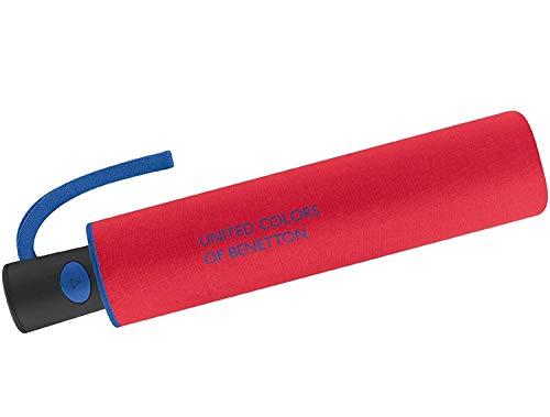 Paraguas Benetton Plegable automático Rojo 95cm