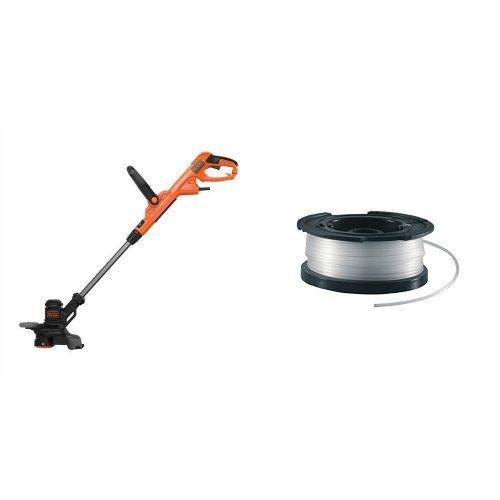 BLACK+DECKER BESTE628-QS Tagliabordi a Filo PowerComand, 550 W, 28 cm + A6481 Rocchetto Filo Nylon
