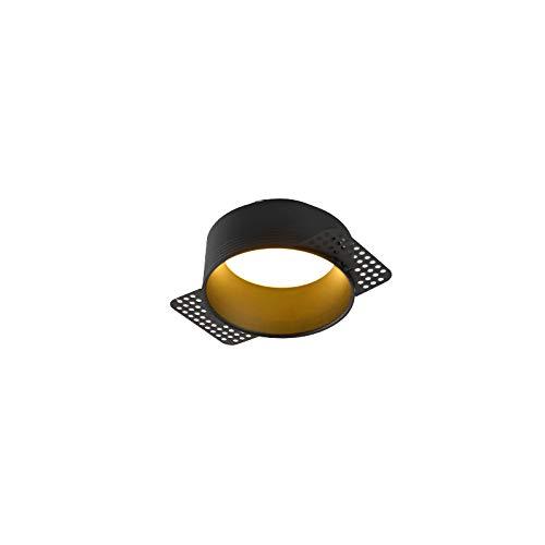 Enlylyog LED incrustado Minimalista Línea de Downlight Brownlight Sala de la Sala de Discotecimiento Corredor Corredor Anti-Glamare Techo Agujero Luz Gran ángulo COB Ultra-Thin Spotlight Lighture
