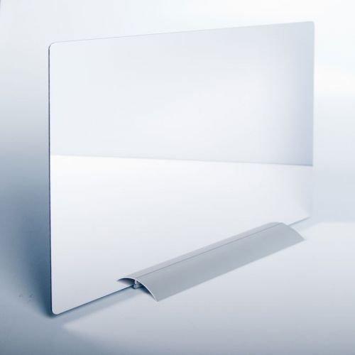 TherapieSpiegel HAND/Kunststoffspiegel (300x240 mm) inkl. Klemmfuß aus Aluminium