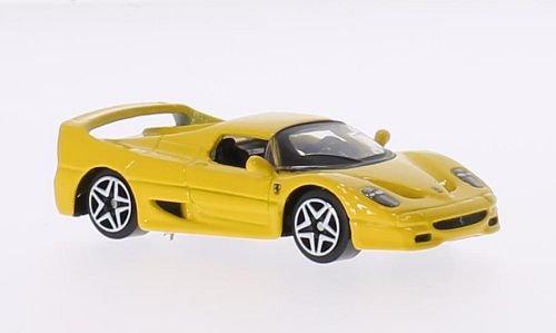 Ferrari F50 Yellow 0 - Modelo de coche listo Bburago 1:64