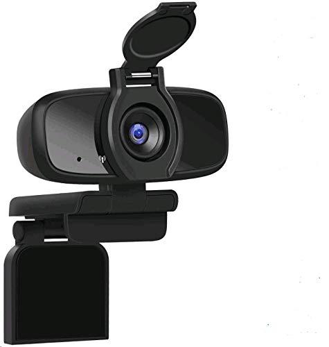 LarmTek Webcam für PC,USB-Kamera mit Webcam-Abdeckung,Computer-Laptop-Kamera für Konferenzen,Pro Stream-Webcam mit Plug & Play,W2Pro,DE