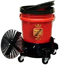 Pinnacle 5 Gallon Wash Bucket System with Dolly