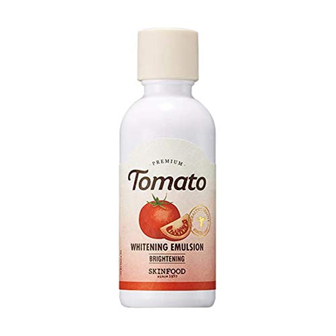 核失速読み書きのできないSkinfood プレミアムトマトホワイトニングエマルジョン/Premium Tomato Whitening Emulsion 160ml [並行輸入品]
