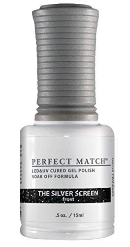 LECHAT Perfect Match Nail Polish, The Silver Screen, 0.500 Ounce by LECHAT