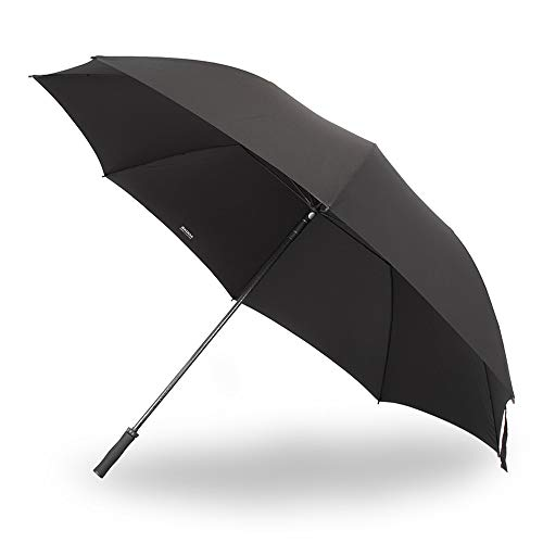 Skoda MVF09-048 Regenschirm Gästeschirm 3XL Schirm Umbrella Fiberglasstock, schwarz