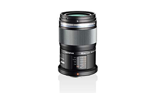 Olympus M.Zuiko Digital ED 60mm F2.8 Objektiv, Standardzoom, geeignet für alle MFT-Kameras (Olympus OM-D & PEN Modelle, Panasonic G-Serie), schwarz