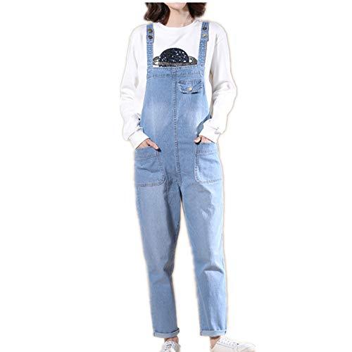 Jeans y tirantes