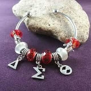Three Letter Charm Bangle Bracelet - Beautiful!