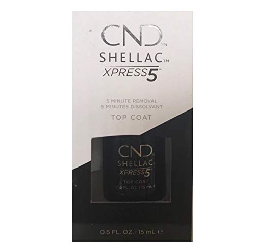 CND Shellac Smalto per Unghie, Xpress 5 Top, 15 ml