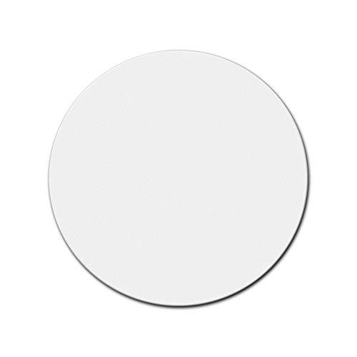 Bilderdepot24 Leinwand in weiß, paintable Premium Quality, monté sur Le châssis - Format Rond - Environ 60 cm - 350g/m² - complètement encadrée, 7 Couleurs Disponibles