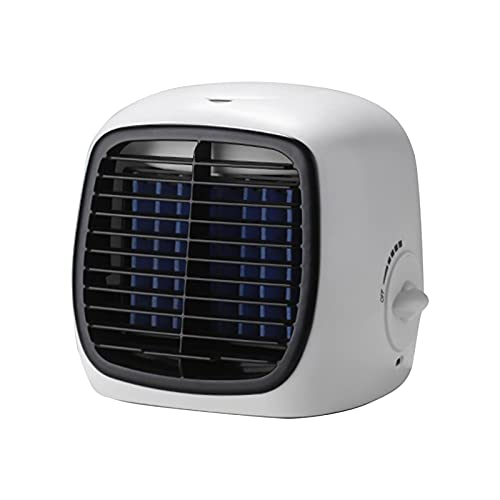 NIMON Mini Enfriador De Aire,Aire Acondicionado Móvil, Mini Enfriador De Aire, Climatizador Pequeño, Enfriador De Aire Y Humidificador, Ventilador Y Purificador con 5 Velocidades Ajustables Frugal
