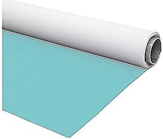 hellblau weißer Vinylhintergrund 230x500cm