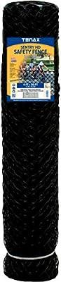 Tenax 64315809 Sentry HD, 4' x 50', Black