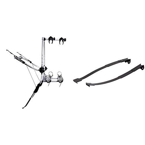 Thule ClipOn High 9105, Heckklappen-Fahrradträger & 911500 ClipOn High Adapter