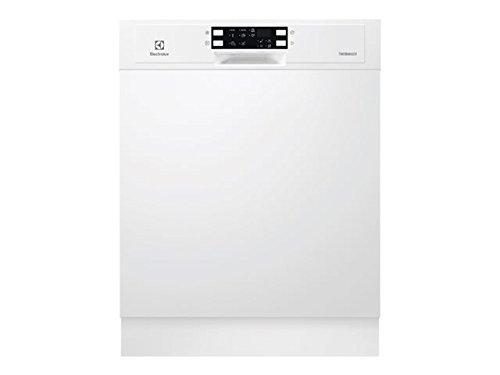Electrolux ESI5543LOW Semi-incorporado 13cubiertos A++ lavavajilla - Lavavajillas (Semi-incorporado, Tamaño completo (60 cm), Blanco, Botones, Tocar, LED, 1,5 m)